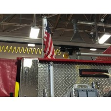 Solid Stainless Swiveler Fire Truck Pole