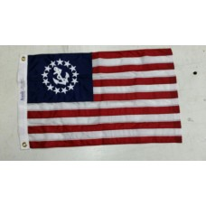 "12"" x 18"" to 24"" x 36"" Yacht Ensign Flag"