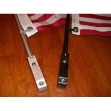 Square Luggage Rack Swiveler Poles